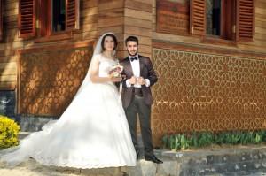 Dış mekan düğün çekimi